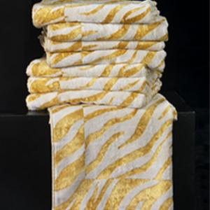 Set Asciugamani Animalier Gold